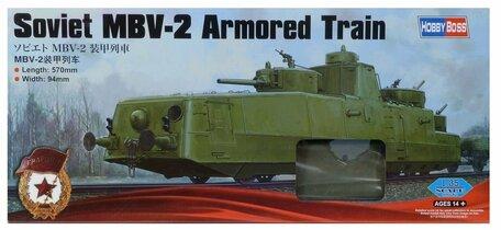 HobbyBoss Soviet MBV-2 Armored Train 1:35