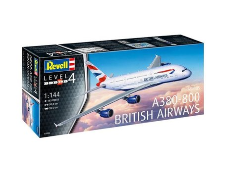 Revell Airbus A380-800 British Airways 1:144