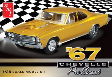 AMT 1967 Chevy Chevelle Pro Street 1:25