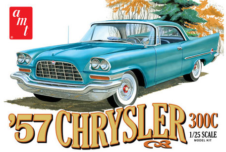 AMT 1957 Chrysler 300 1:25