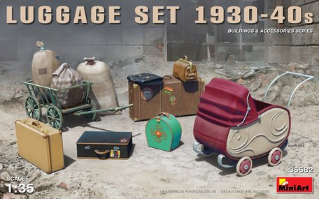 MiniArt Luggage Set 1930-40s 1:35