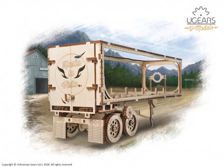 UGears Heavy Boy Truck Trailer (70057)