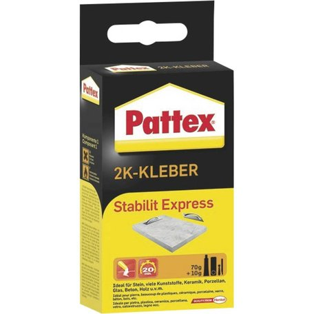 2 Componenten Lijm: Pattex Stabilit Express - Groot verpakking