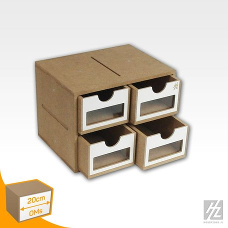 HobbyZone (OMS01A) Drawers Module x 4 - Small