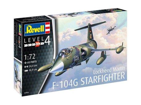 Revell Lockheed Martin F-104G Starfighter 1:72