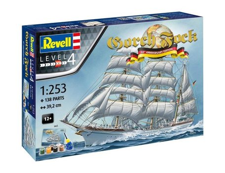 Revell Gorch Fock 60th Anniversary 1:253
