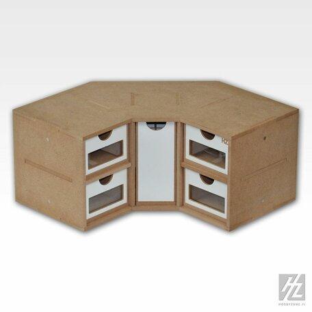 HobbyZone (OM03) Corner Drawers Module