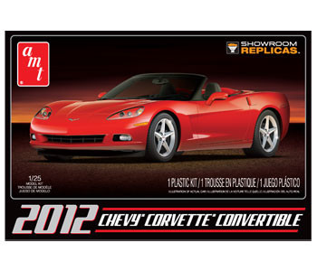 AMT Chevy Corvette Convertible 2012 1:25