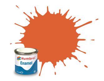Humbrol 082: Orange Lining