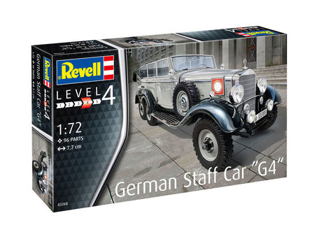 Revell German Staff Car G4 1:72