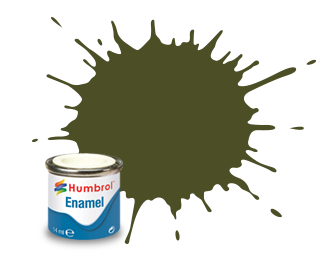 Humbrol 155: Olive Drab