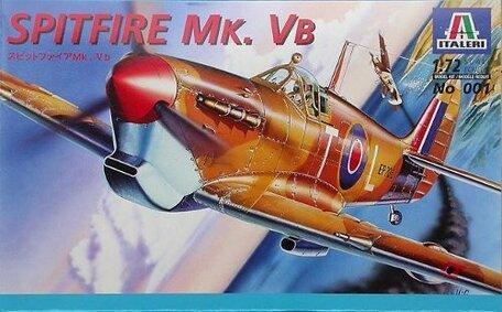 Italeri Spitfire Mk. Vb 1:72
