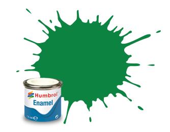 Humbrol 002: Emerald Green
