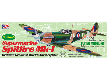 Guillow's Supermarine Spitfire 1:30 (504)