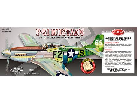 Guillow's P-51 Mustang 1:16 (402)