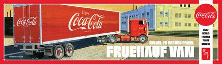 AMT Fruehauf Van Trailer Coca-Cola 1:25 (1109)