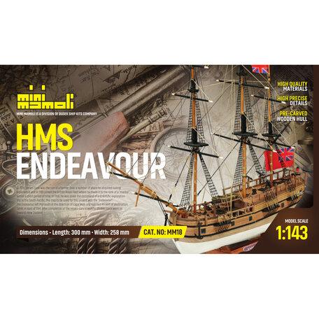Mamoli HMS Endeavour 1:143
