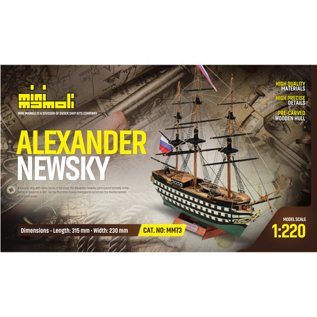 Mamoli Alexander Newsky 1:220 (MM73)