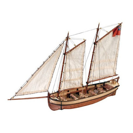 Artesania Latina H.M.S. Endeavour's Longboat 1:50 (19015)