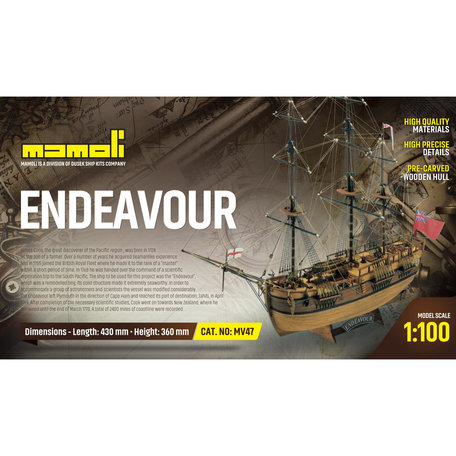 Mamoli Endeavour 1:100
