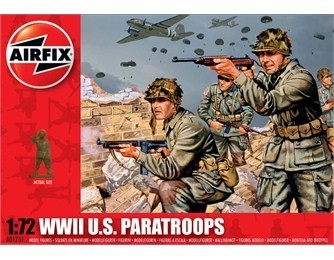 Airfix U.S. Paratroops WWII 1:72