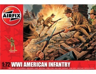 Airfix American Infantry WWI 1:72
