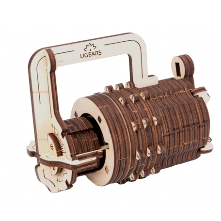 UGears Combinatie Slot
