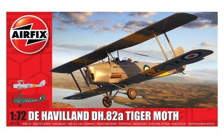 Airfix De Havilland DH.82a Tiger Moth 1:72