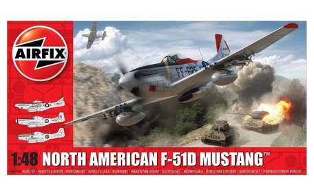 Airfix North American F-51D Mustang 1:48