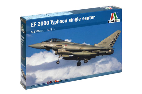 Italeri EF 2000 Typhoon Single Seater 1:72