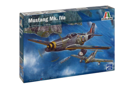 Italeri Mustang Mk. IVa 1:48