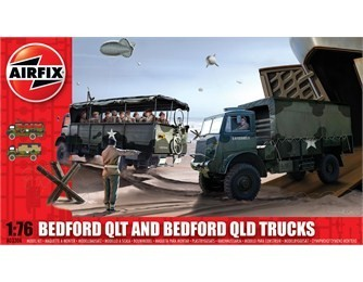 Airfix Bedford QLT and Bedford QLD Trucks 1:76