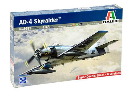Italeri AD-4 Skyraider 1:48