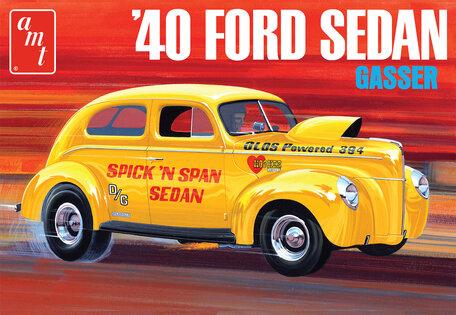 AMT 1940 Ford Sedan Gasser 1:25