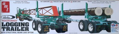 AMT Logging Trailer Roadrunner 1:25