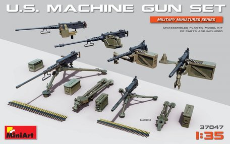 MiniArt U.S. Machine Gun Set 1:35