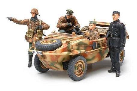 Tamiya German Panzer Division Frontline Reconnaissance Team 1:35