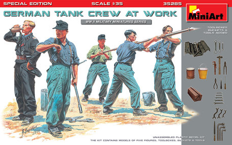 MiniArt German Tank Crew at Work Special Edition 1:35