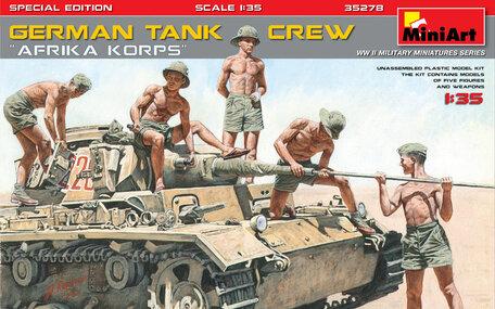 MiniArt German Tank Crew Afrika Korps Special Edition 1:35