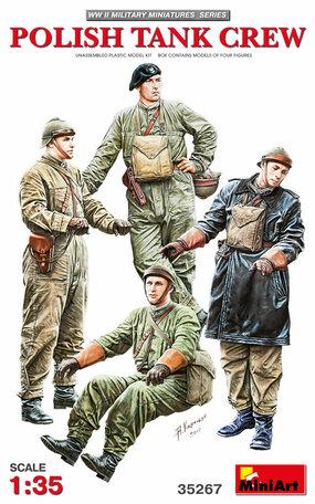 MiniArt Polish Tank Crew 1:35