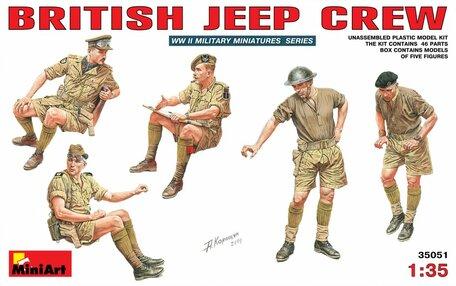 MiniArt British Jeep Crew 1:35