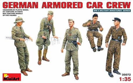 MiniArt German Armored Car Crew 1:35