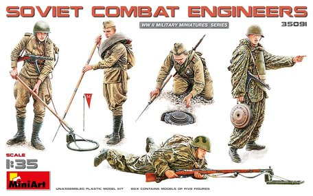 MiniArt Soviet Combat Engineers 1:35