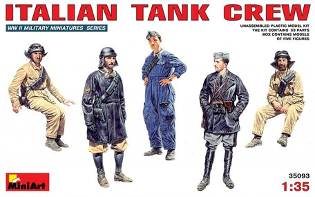 MiniArt Italian Tank Crew 1:35