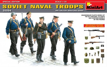 MiniArt Soviet Naval Troops Special Edition 1:35