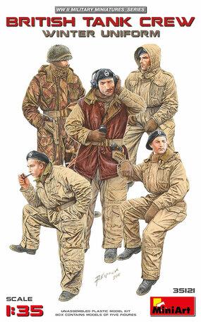 MiniArt British Tank Crew Winter Uniform 1:35