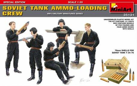 MiniArt Soviet Tank Ammo Loading Crew 1:35