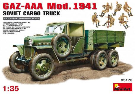 MiniArt GAZ-AAA Cargo Truck Mod. 1941 1:35