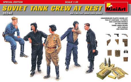 MiniArt Soviet Tank Crew at Rest Special Edition 1:35
