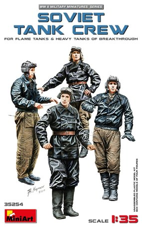 MiniArt Soviet Tank Crew 1:35